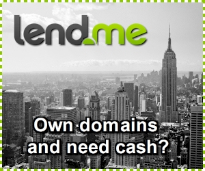 Short Term Loans secured by Domains and Websites